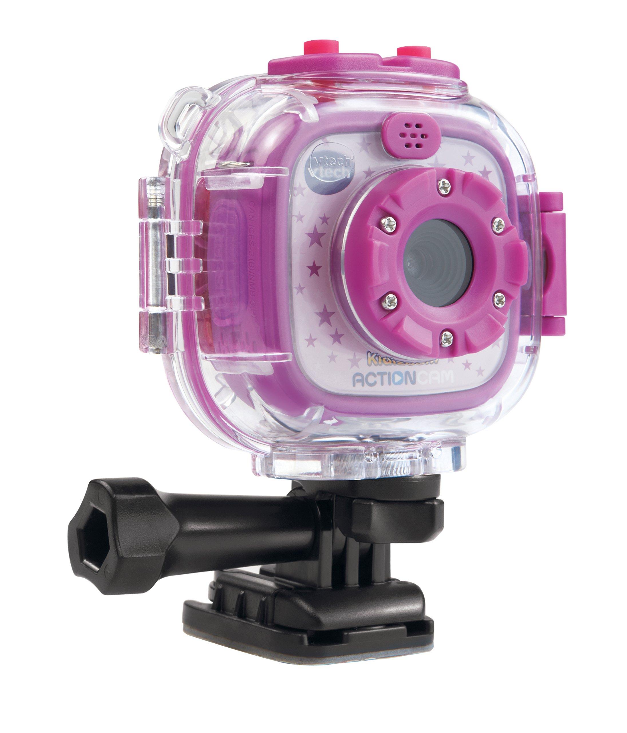 vtech kidizoom kids action cam camera purple new ebay. Black Bedroom Furniture Sets. Home Design Ideas