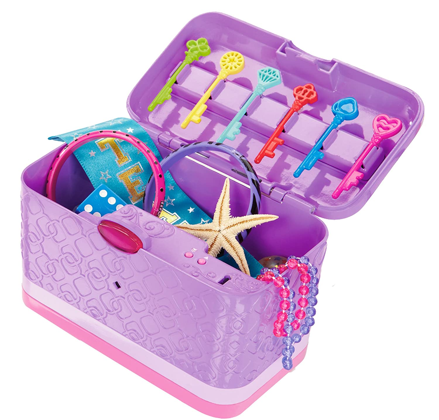 Cool Toys For Girls Age 8 11 : Password journal voice activated keepsake box