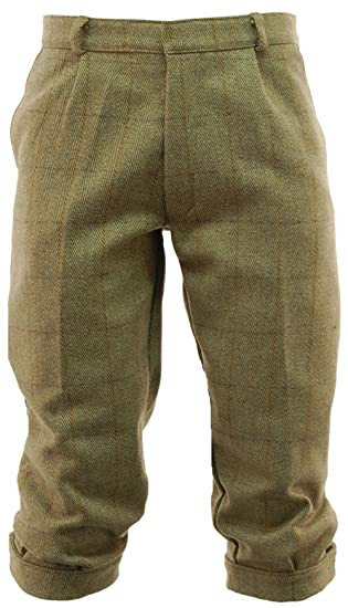 1930s Style Men's Pants Derby Tweed Breeks - 30 to 44