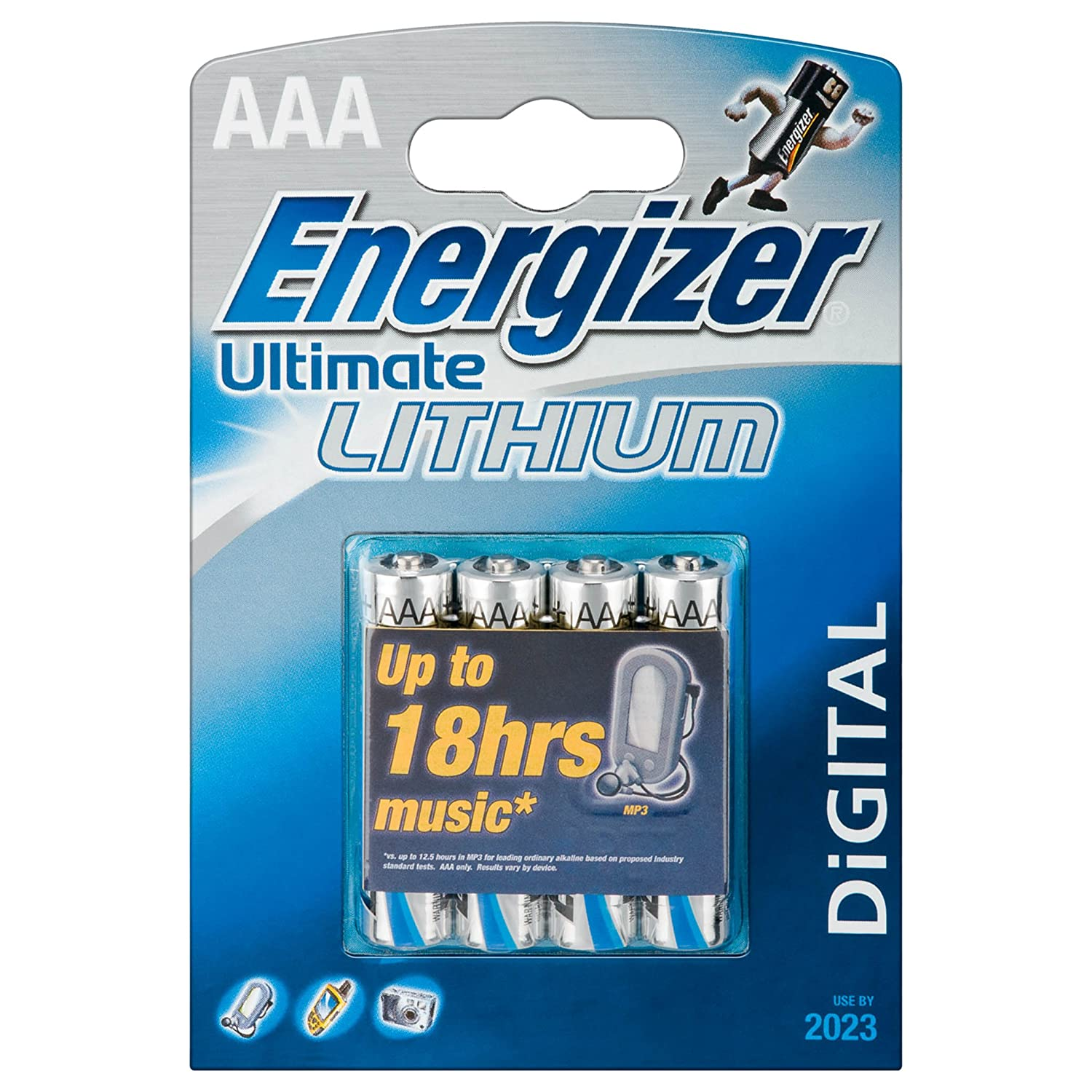 Energizer Lithium AA / AAA Batteries 2 Packs Of 4 £11.32