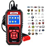 OBD2 Scanner, Auto Diagnostic Code Scanner KW850 Pro Universal Vehicle Engine Scanner OBD Scanners Tool Check Engine Light Code Reader for all OBD II Cars Since 1996?2018 Upgrade Exclusive Version? (Tamaño: KW850 Pro)
