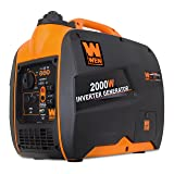 WEN 56200i Super Quiet 2000-Watt Portable Inverter Generator, CARB Compliant (Tamaño: 2000 Watts)