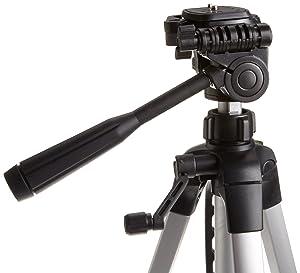Tripode para Cámara Fotográfica o de Video AmazonBasics de 60 Pulgadas con Bolso