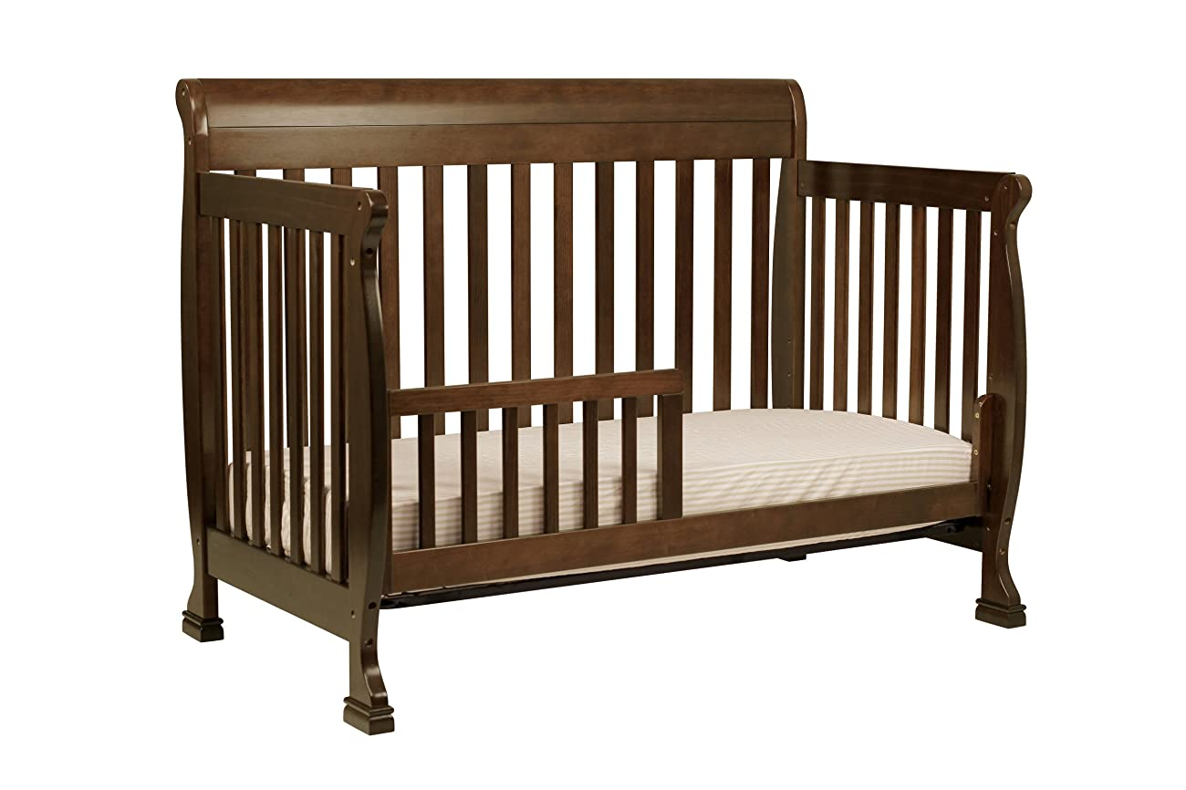 DaVinci Kalani 4-in-1 Convertible Crib with Toddler Rail, Espresso 2