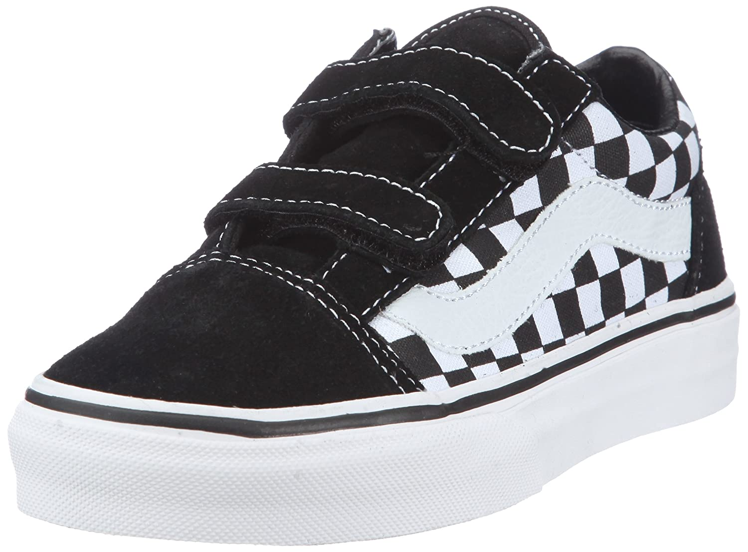 Vans Kids Old Skool V Checkerboard Black White Vn-0d3z5gu vans рюкзак vans old skool ii classic camo
