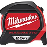 Milwaukee Tool 48-22-7125 Magnetic Tape Measure 25 ft x 1.83 Inch (Tamaño: Pack of 1)