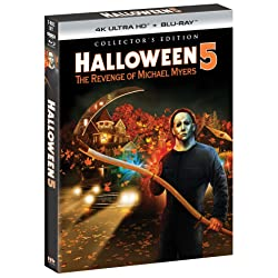 Halloween 5: The Revenge of Michael Myers - Collector's Edition [4K Ultra HD + Blu-ray]