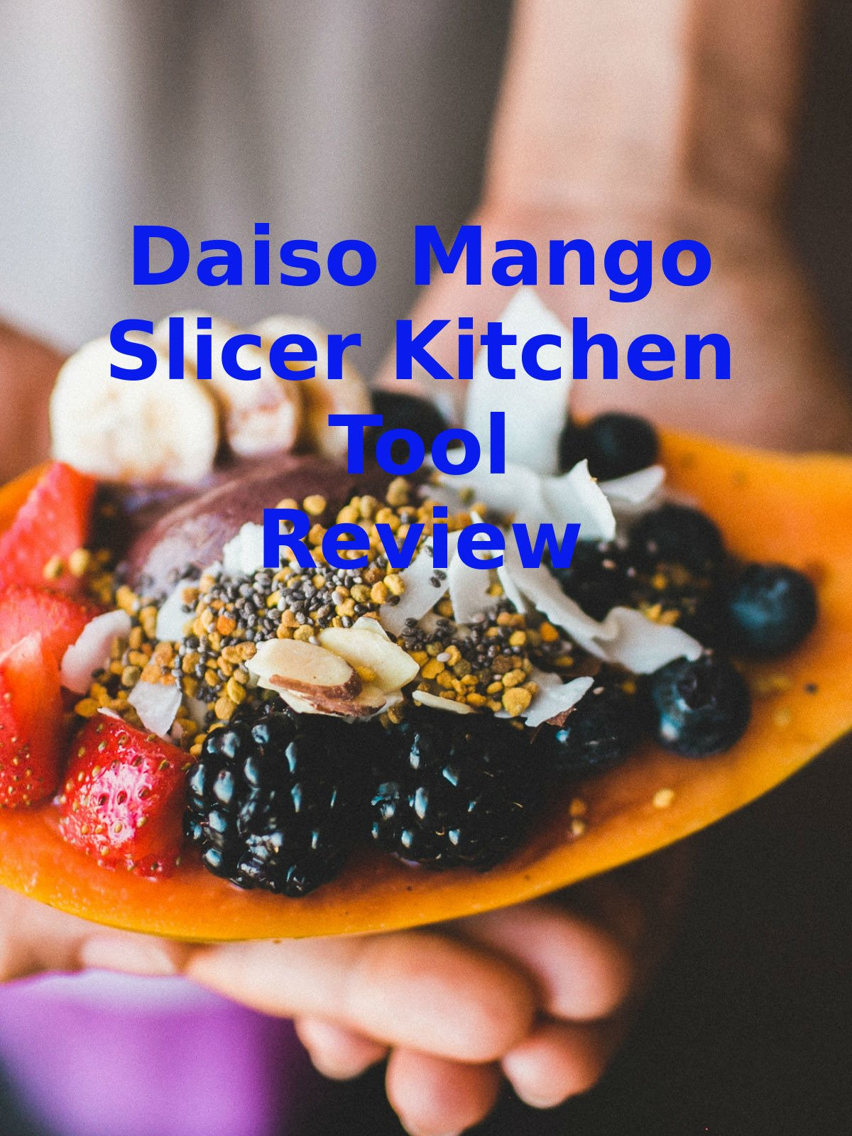 Review: Daiso Mango Slicer Kitchen Tool Review