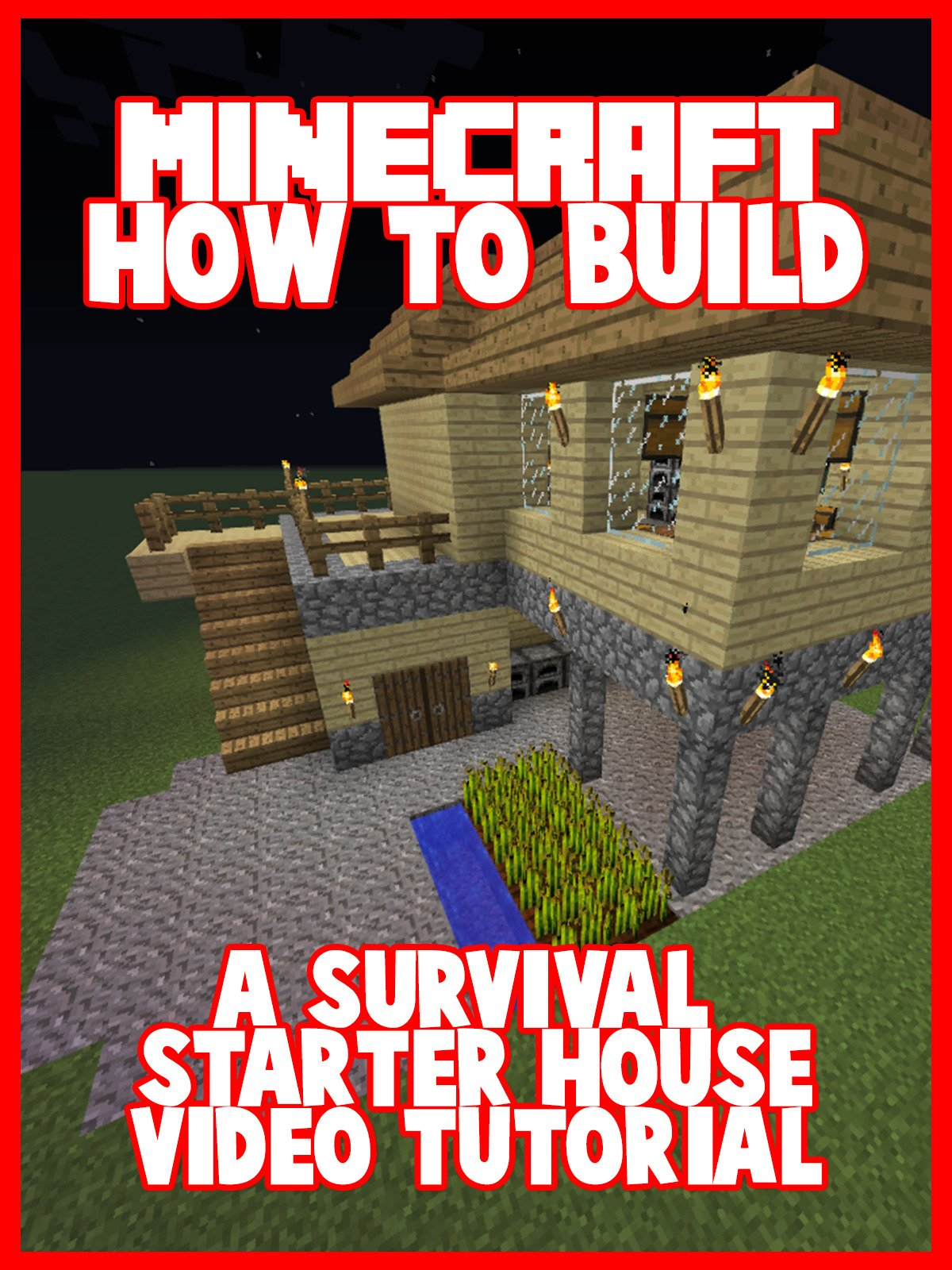 Clip: Minecraft: How to Build a Survival Starter House