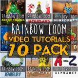 Ultimate Rainbow Loom Video Tutorials PRO - COMBO APP - Top Rubber Band Designs Video Guide