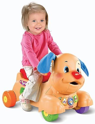 费雪大玩具海淘:Fisher-Price费雪Laugh and Learn系列小狗车
