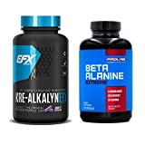 Kre-Alkalyn EFX 240 caps and Prolab Beta Alanine Extreme 240 caps Bundle: Maximize Muscle Gains with Powerful Bulk Supplement, Synergistic Stack for Strength, Energy, Stamina, Mass and Performance