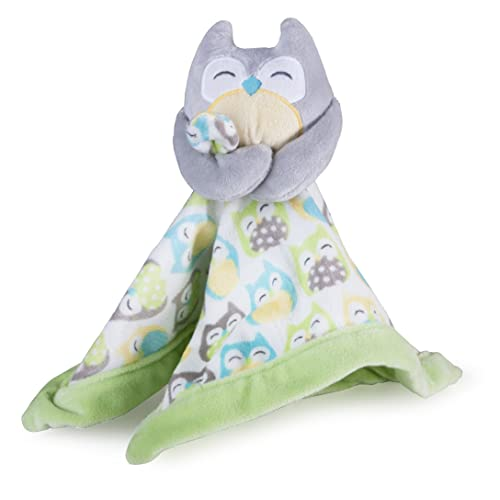 Carters Security Blanket Grey Owl
