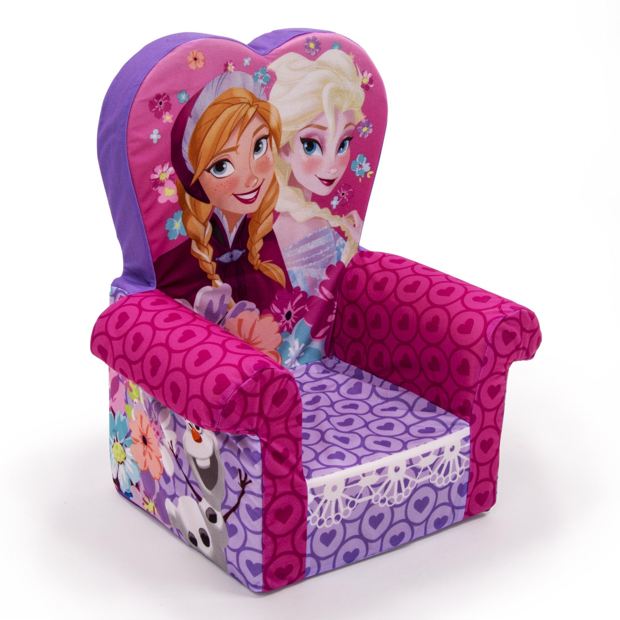 disney sofas chair frozen anna elsa princess kids girls
