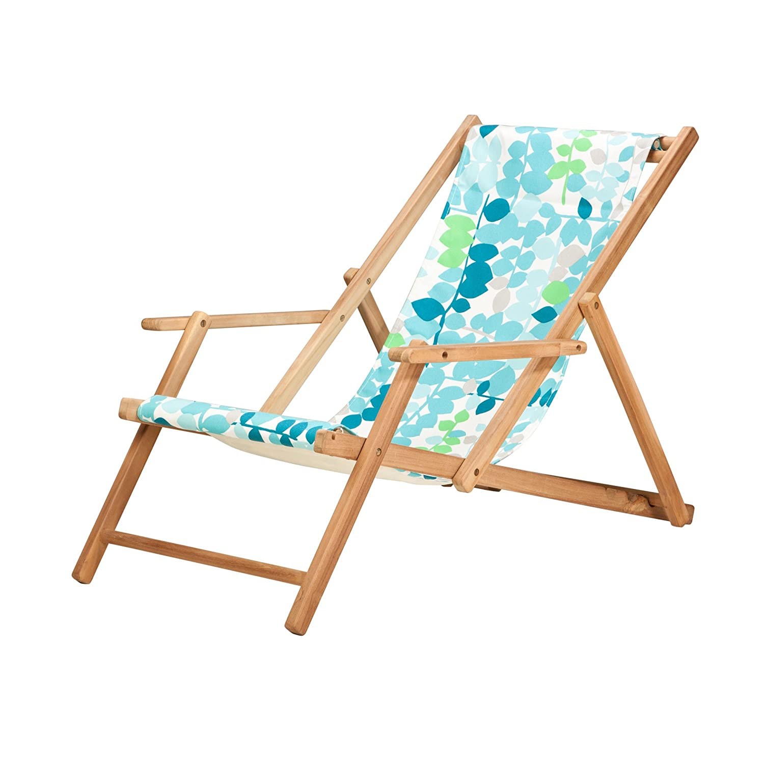 jan kurtz deckchair blume greenwich strandstuhl holz jetzt. Black Bedroom Furniture Sets. Home Design Ideas