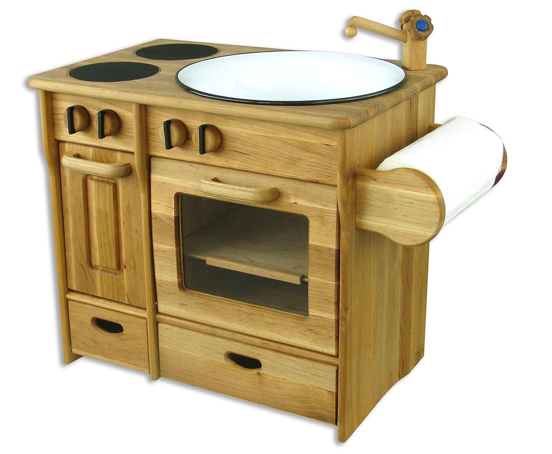 Drewniana kuchnia dla dzieci EKSKLUZYWNA DREWART  5881408223  oficjalne arc   -> Kuchnia Dla Dzieci Drewniana Allegro
