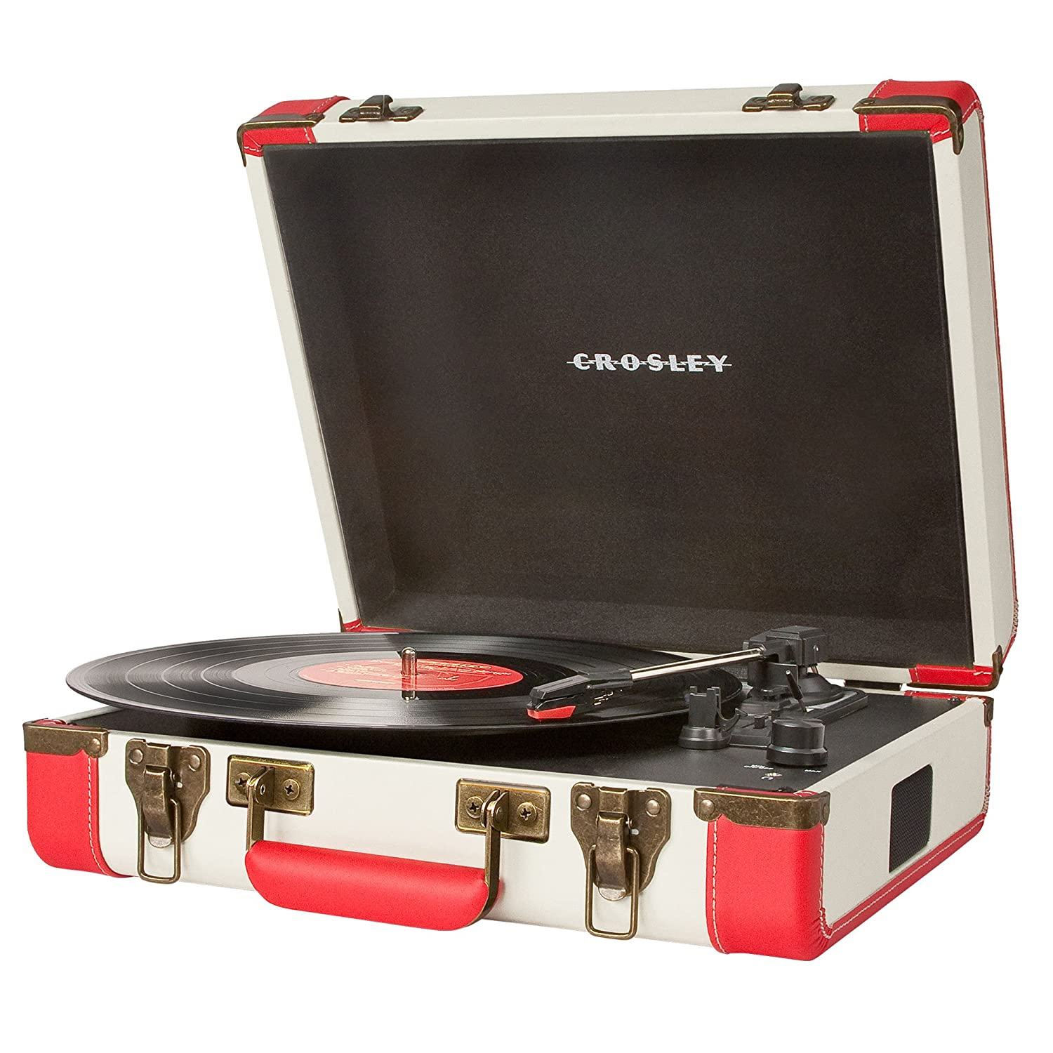 Vintage and portable record player