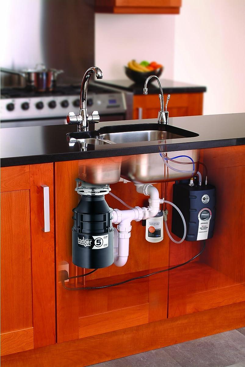 InSinkErator Badger 5 Garbage Disposal, 1/2 HP Food Waste Disposal Unit