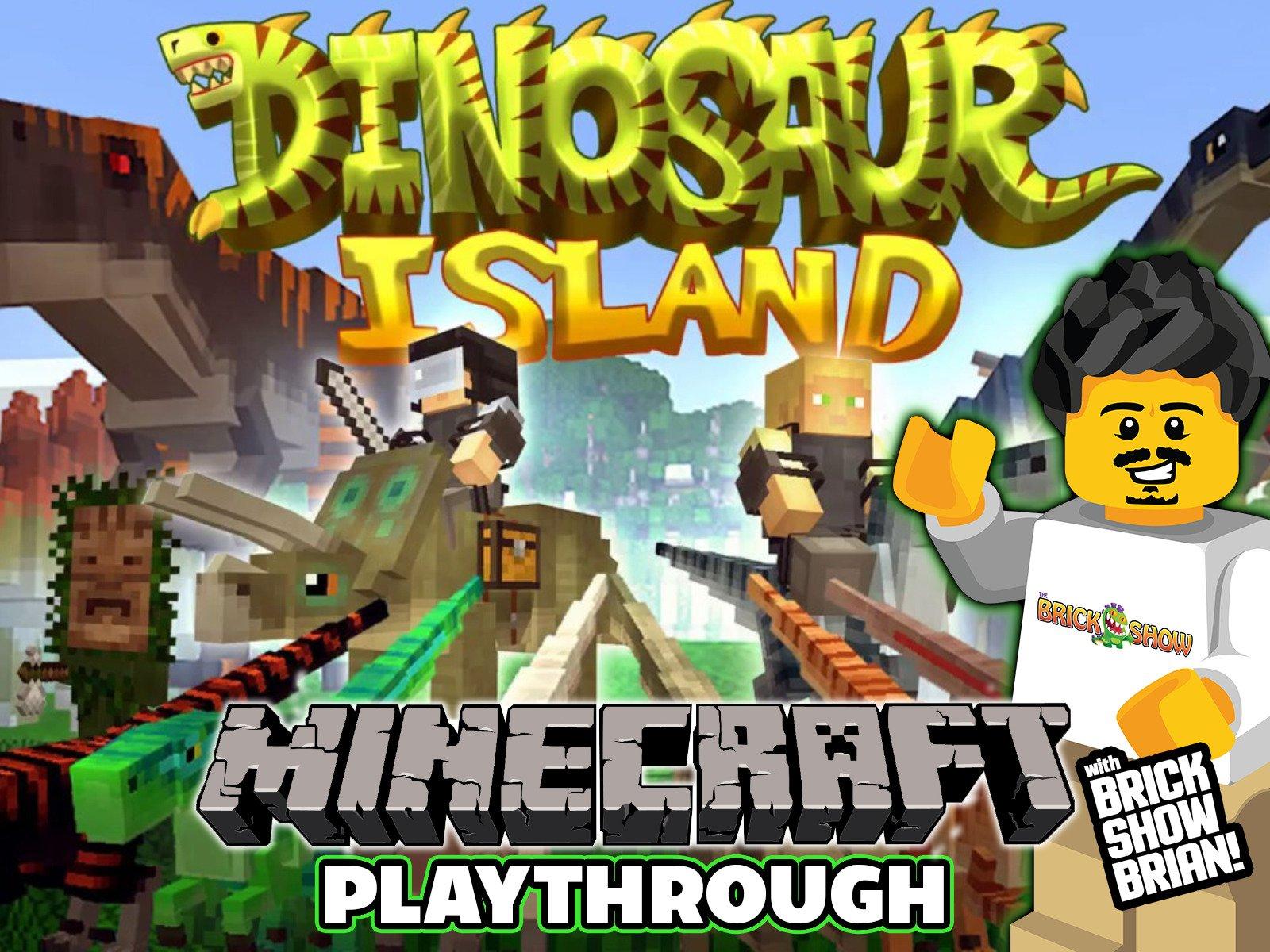 Clip: Dinosaur Island Minecraft Playthrough with Brick Show Brian - Season 1