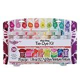 Tulip One Step Kit: Kaleidoscope, 12 Colors Tie Dye (Color: Kaleidoscope)