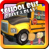 School Bus Drive & Play! Toy Car Game For Toddlers and Kids With Lights, Horn, and Supercar 3D Action