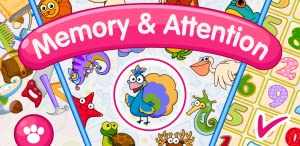 Memory and Attention Lite: 6 educational games for 4-7 year olds from Hedgehog Academy