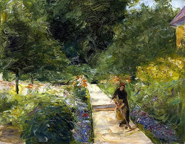 The Cutting Garden in Wannsee by Max Liebermann