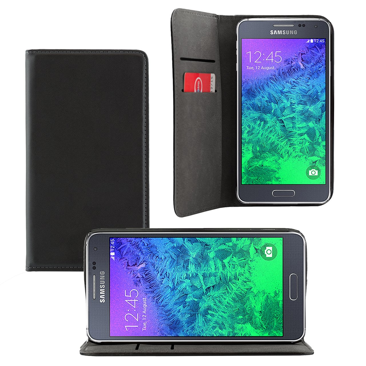 iProtect Samsung Galaxy Alpha PU Leder