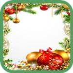 Weihnachten und Neujahr Bilderrahmen