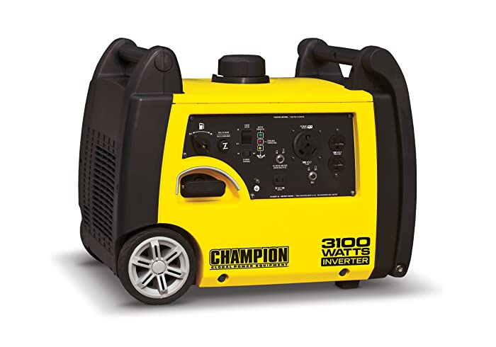 Champion Power Equipment 75531i 3100 Watt RV Ready Portable Inverter Generator via Amazon