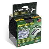 Gator Grip: RE3952 Premium Grade Anti-Slip Traction Tape, 4 Inch x 15 Foot, Black (Color: Black, Tamaño: 4