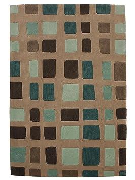benuta tapis de salon moderne moderne laker pas cher bleu 120x170 cm cm sans pollution. Black Bedroom Furniture Sets. Home Design Ideas