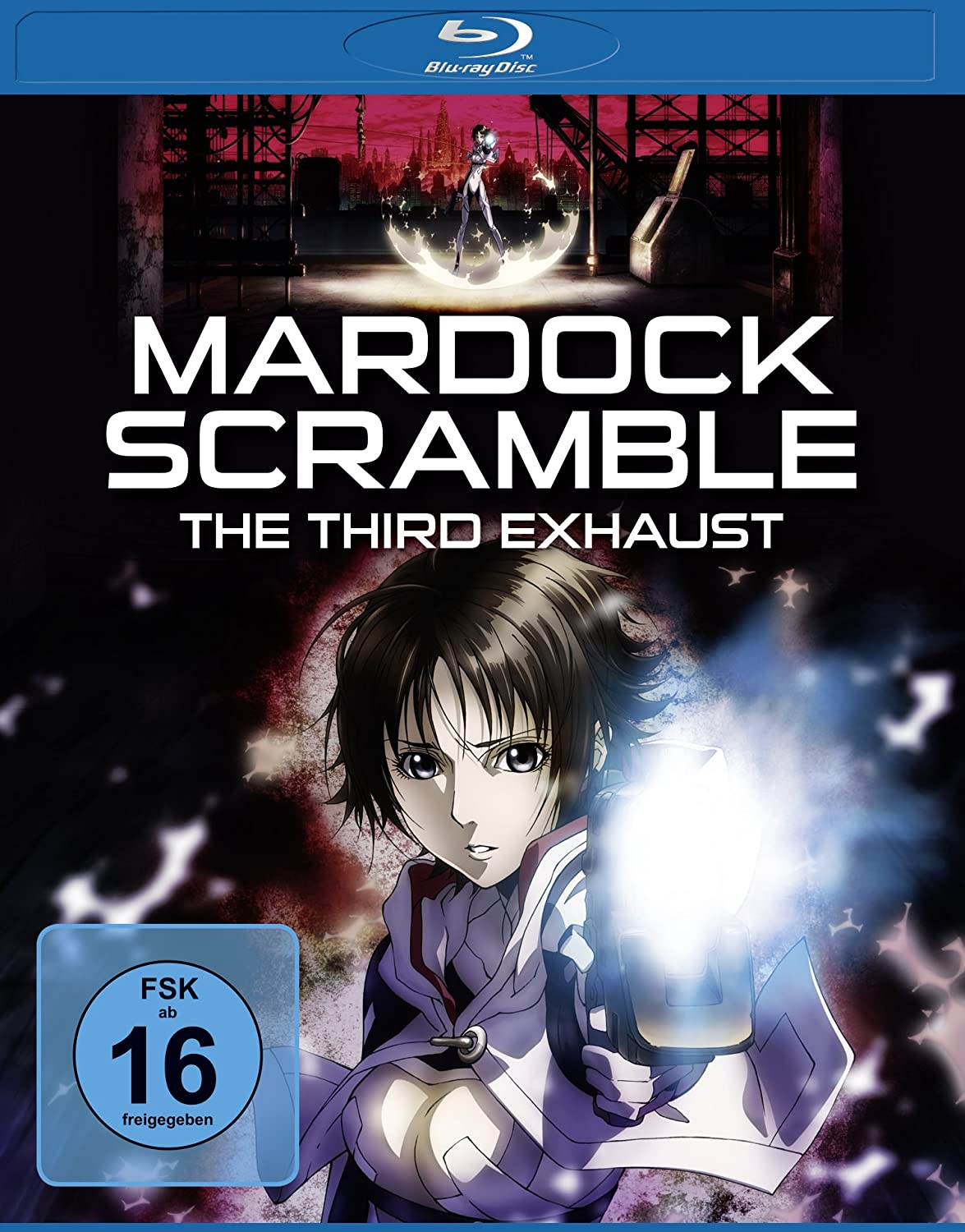 Mardock Scramble - The Third Exhaust, Blu-ray