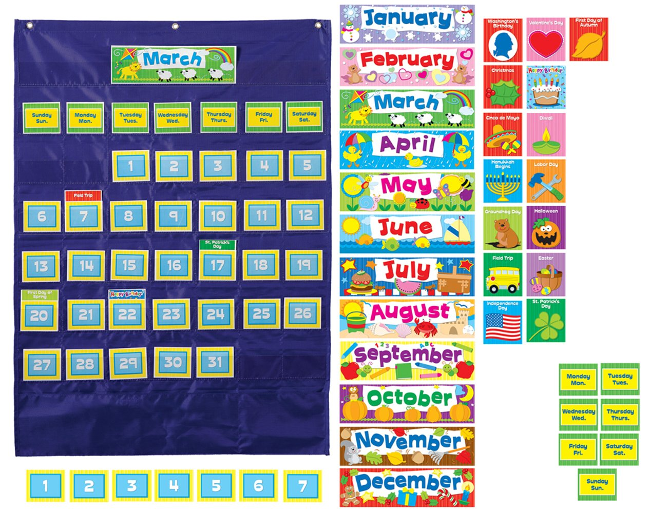 Calendar Organization Rules : Scholastic teacher s friend classroom tree write on wipe