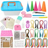BAIYUN Quilling Kit Complete Quilling Paper Set with 1940 Strips All Necessary Tools and Storage Box Suitcase for Beginners, Advanced Quiller, Kids and Adults