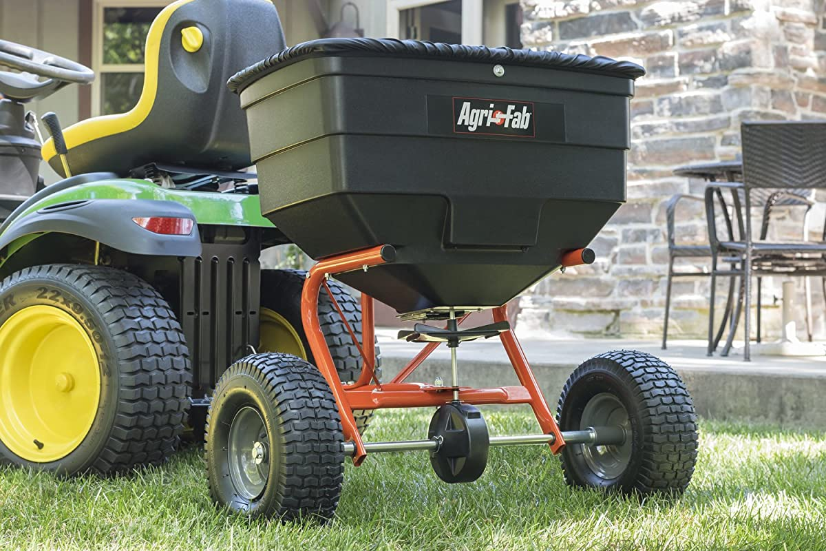 Agri-Fab 175-Pound Tow Broadcast Spreader 45-0329