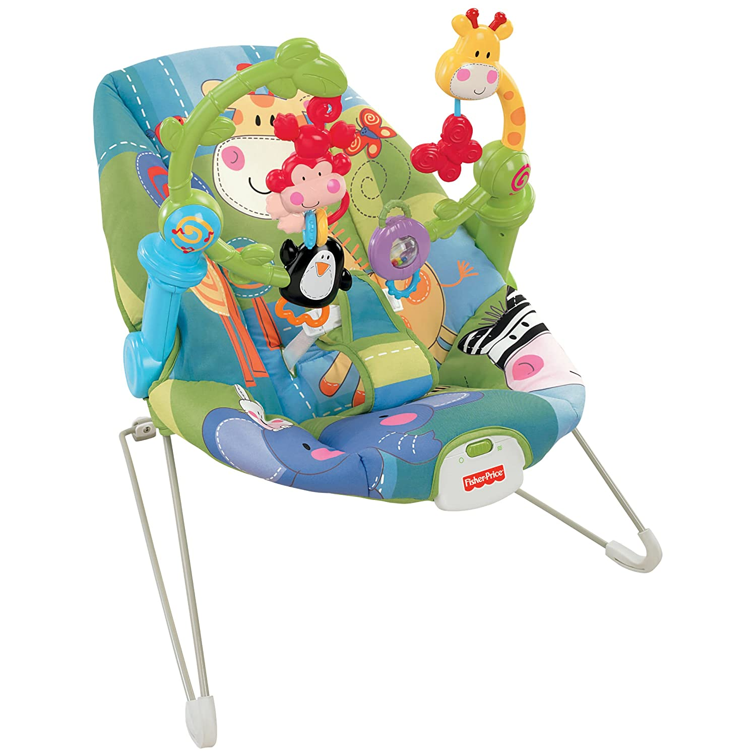fisher price discover and n grow jungle bouncer activity chair seat new nib ebay