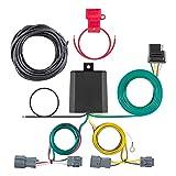 CURT 56347 Vehicle-Side Custom 4-Pin Trailer Wiring Harness for Select Hyundai Entourage, Kia Sedona (Color: Black)