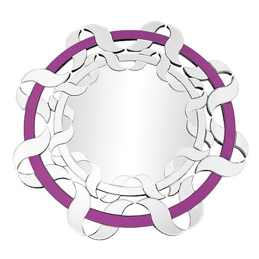 Premier Housewares Ribbon Style Wall Mirror
