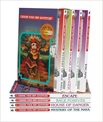 Mystery of the Maya/House of Danger/Race Forever/Escape (Choose Your Own Adventure 5-8) written by R. A. Montgomery