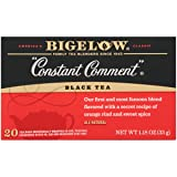 Bigelow Constant Comment Tea 20-Count Boxes (Pack of 6) Caffeinated Individual Black Tea Bags, for Hot Tea or Iced Tea, Drink Plain or Sweetened with Honey or Sugar (Tamaño: 6 Pack / 20 Bags)