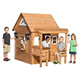 Backyard Discovery Cascade Cedar Playhouse