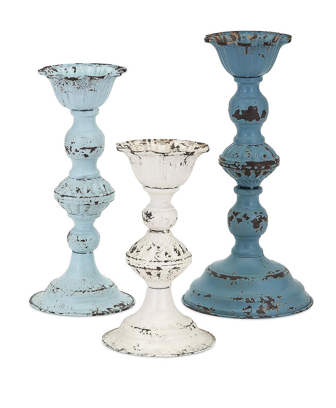 Brugge Vintage Candleholders - Set of 3 0