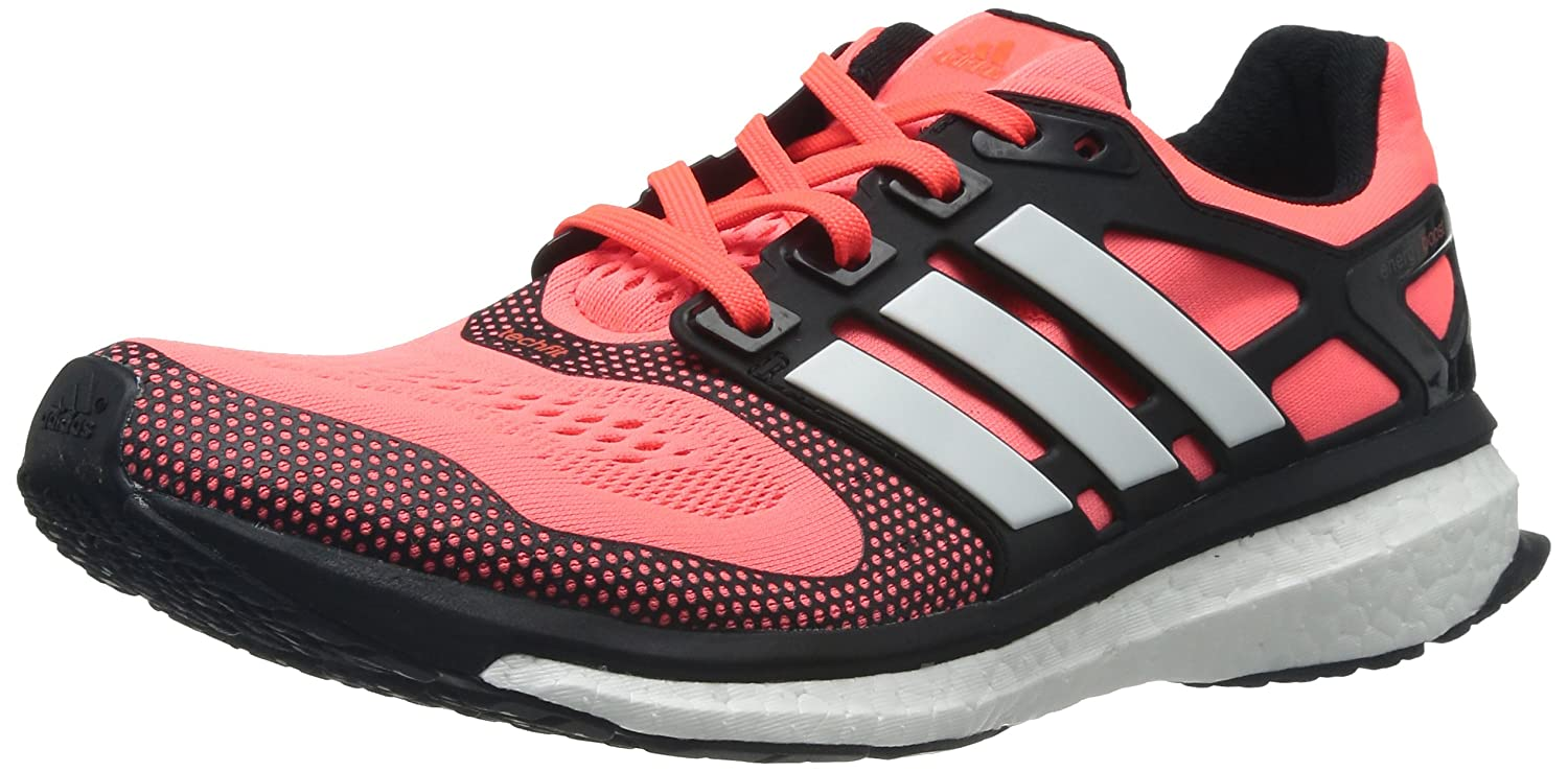 adidas Men's Energy Boost 2 Esm M Solar Red, White and Black Polyester Running Shoes 8 UK: Buy Online at Low Prices in India Amazon.in