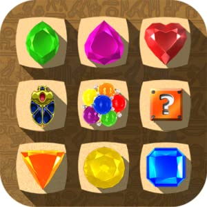 Jewel Drops - Match three puzzle by Bullbitz