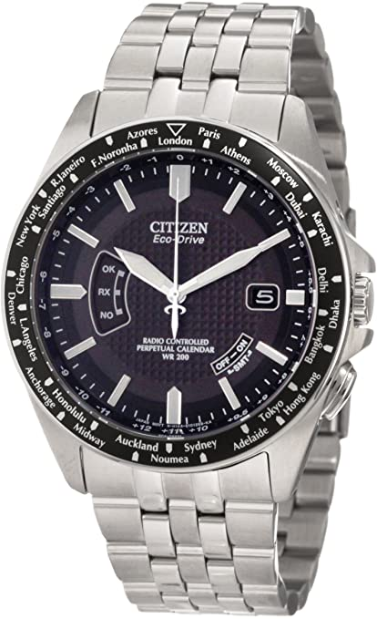 Citizen Men's CB0020-50E World Perpetual A-T Watch-奢品汇 | 海淘手表 | 腕表资讯