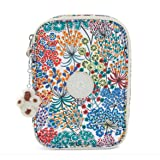 Kipling 100 Pens Printed Case Little Flower Blue (Color: Multicolored)