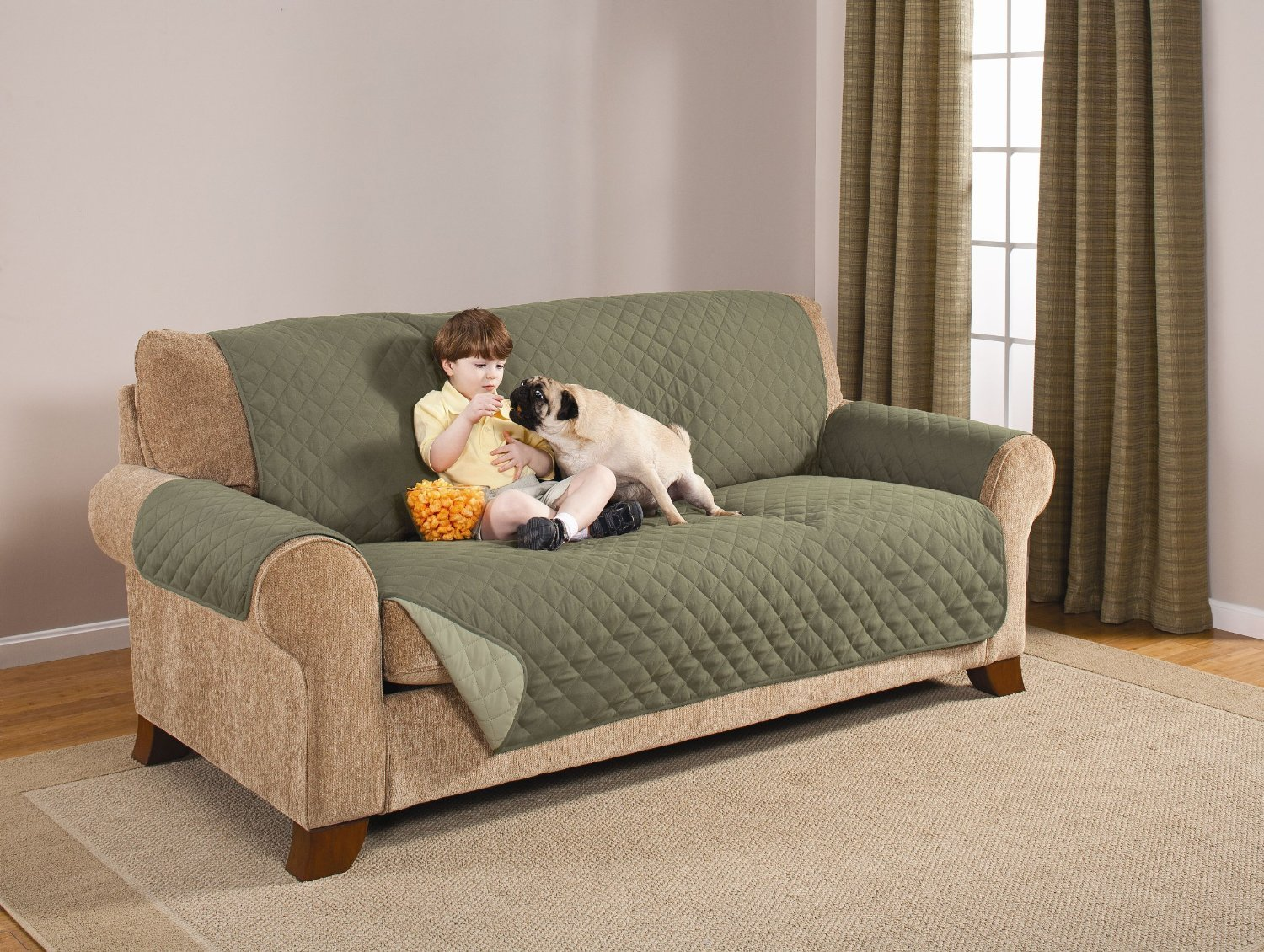 Top 10 Best Pet Couch covers That Stay in Place Couch  : 816egsMnt LSL1500 from www.dogpsycho.com size 1500 x 1130 jpeg 387kB