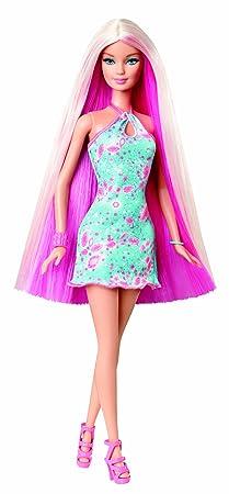 Barbie - Y9926 - Poupée Mannequin - Cheveux Longs - Rose