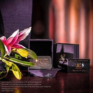 4867060b8c0c75 LADY COLOUR Bracelet for Women Wife Birthday Aquamarine Blue Tennis  Bracelet Swarovski Crystals Jewelry for Her ...